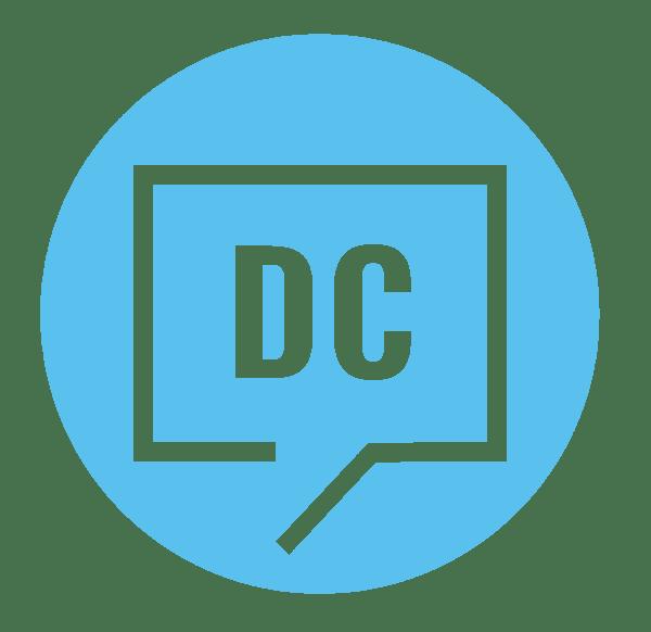 DC circle logo